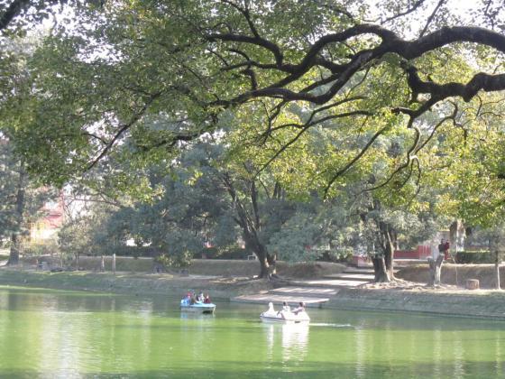 Lake in Kathmandu